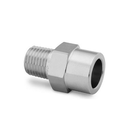 Stainless Steel Tube Socket Weld Male Connector